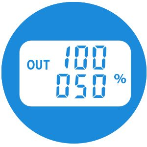 Автомобильный компрессор Hyundai HY 1540  - Дисплей с четкой индикацией значений Ото...