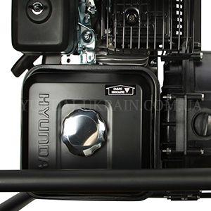 Мотопомпа для агрессивных жидкостей Hyundai HYA 83  - ТОПЛИВНЫЙ БАК ИЗ СТАЛИ Бензобак вмещает ...