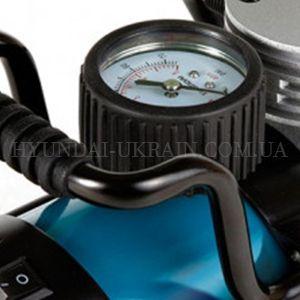 Автомобильный компрессор Hyundai HY 1765  - АНАЛОГОВЫЙ МАНОМЕТР Измерять давление в ...
