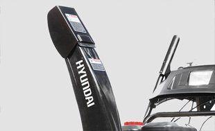 Бензиновый снегоуборщик Hyundai S 7065  - МЕТАЛЛИЧЕСКИЙ ЖЕЛЛОБ ВЫБРОСА Металл сним...