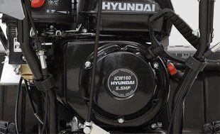 Бензиновый снегоуборщик Hyundai S 5560  - ОРИГИНАЛЬНЫЙ ЗИМНИЙ ДВИГАТЕЛЬ HYUNDAI Фи...