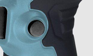 Дрель-шуруповерт Hyundai D350  - БЛОКИРОВКА ВЫКЛЮЧЕНИЯ Специальная кнопка...