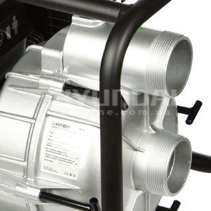 Мотопомпа для грязной воды Hyundai HYT 83  - УВЕЛИЧЕННЫЙ ДИАМЕТР ПАТРУБКОВ Диаметр за...