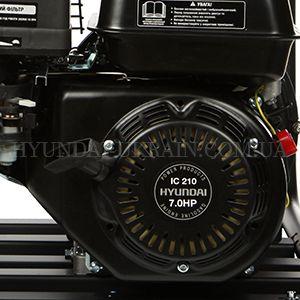 Мотопомпа для агрессивных жидкостей Hyundai HYA 83  - ФИРМЕННЫЙ ДВИГАТЕЛЬ IC 210 Мотор Hyundai...