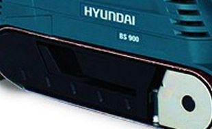 Ленточная шлифмашина Hyundai BS 900  - ЦЕНТРИРОВАНИЕ ПОЛОТНА Для продуктивной р...
