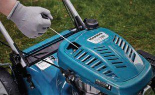 Газонокосилка бензиновая Hyundai L 4300S  - ЛЕГКИЙ СТАРТ Запуск косилки происходит с...