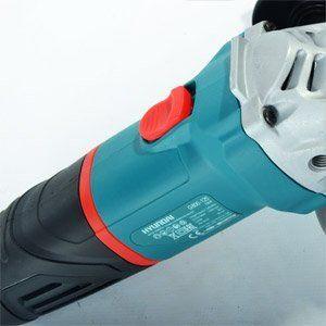 Угловая шлифовальная машина Hyundai G800-125  - КНОПКА START Инструмент имеет специальну...