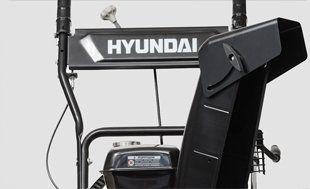 Бензиновый снегоуборщик Hyundai S 5560  - МЕТАЛЛИЧЕСКИЙ ЖЕЛОБ ВЫБРОСА Желоб для вы...