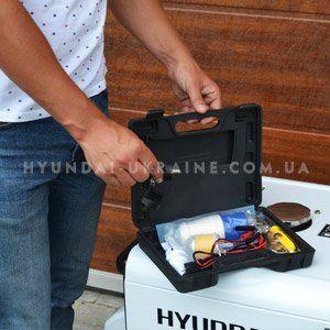 Дизельный генератор Hyundai DHY 8000SE  - КЕЙС С АКСЕССУАРАМИ Производитель позабо...