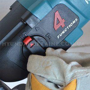 Перфоратор Hyundai H 850  - 4 РЕЖИМА РАБОТЫ ПЕРФОРАТОРА С помощью пе...