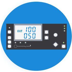 Дизельный генератор Hyundai DHY 6500L  - Эргономичная панель управления Мультизад...