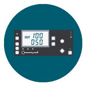 Дизельный генератор Hyundai DHY 8500SE-T  - LED дисплей Дисплейный модуль выводит ци...