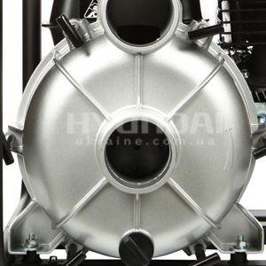 Мотопомпа для грязной воды Hyundai HYT 83  - УСИЛЕННАЯ ПОМПА Корпус насоса сделан из ...
