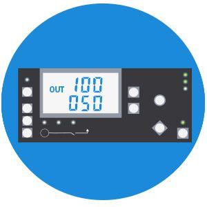 Дизельный генератор Hyundai DHY 7500LE  - LED дисплей Многофункциональный экран ин...