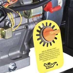 Бензиновый генератор Hyundai HHY 9050FE  - ДАТЧИК КОНТРОЛЯ УРОВНЯ МАСЛА Инновационн...