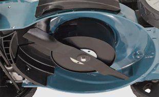 Бензиновая газонокосилка Hyundai L 5500S  - АЭРО-НОЖ Специальная конструкция ножа по...
