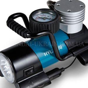 Автомобильный компрессор Hyundai HY 1645  - ПОРТАТИВНОСТЬ Компрессор создан для помо...