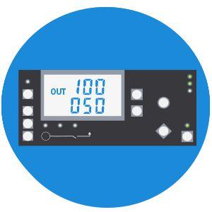 Дизельный генератор Hyundai DHY 12000LE-3  - Информативный LED дисплей На мультифункц...