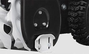 Бензиновый снегоуборщик Hyundai S 5560  - ДВУХСТОРОННИЕ НАПРАВЛЯЮЩИЕ ЛЫЖИ Специаль...