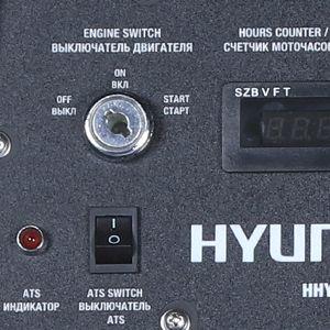 Бензиновый генератор Hyundai HHY 10000FE ATS  - АВТОМАТИЗИРОВАННОЕ ПОДКЛЮЧЕНИЕ Мод...