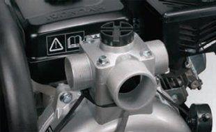 Высоконапорная мотопомпа Hyundai HYH 50  - ТРИ ВЫХОДНЫХ ОТВЕРСТИЯ В зависимости от ...