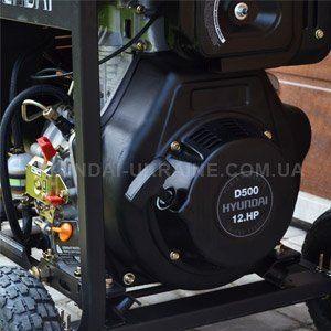 Дизельный генератор Hyundai DHY 8000LE  - ДИЗЕЛЬНЫЙ ДВИГАТЕЛЬ HYUNDAI Профессионал...