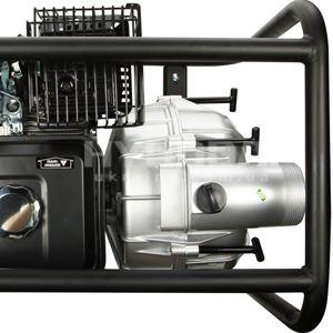 Мотопомпа для грязной воды Hyundai HYT 83  - МЕТАЛЛИЧЕСКАЯ РАМА Конструкция из металл...