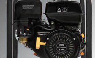 Мотопомпа для чистой воды Hyundai HY 80  - ДВИГАТЕЛЬ HYUNDAI 4-хтактный двигатель я...
