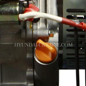 Бензиновый генератор Hyundai HHY 9020FE ATS  - КОНТРОЛЬ ДОСТАТОЧНОСТИ МАСЛА Сверхчувств...