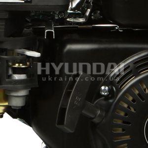 Мотопомпа для грязной воды Hyundai HYT 83  - РУЧНОЙ СТАРТ Система ручного запуска акт...