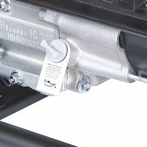 Бензиновий генератор Hyundai HHY 3030F  - КОНТРОЛЬ УРОВНЯ МАСЛА Система измерения ...