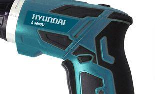 Аккумуляторная отвертка Hyundai A 3600Li  - ПОВОРОТНАЯ РУКОЯТКА Ручку шуруповерта мо...