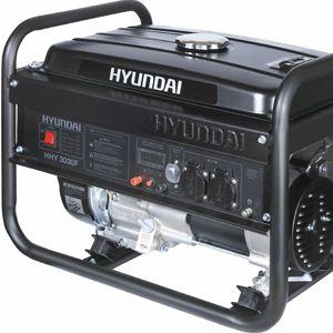 Бензиновий генератор Hyundai HHY 3030F  - ПОРТАТИВНОСТЬ Вес оборудования без топли...