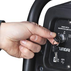 Бензиновый генератор Hyundai HHY 9050FE  - ЭЛЕКТРОЗАПУСК Гарантированный запуск про...