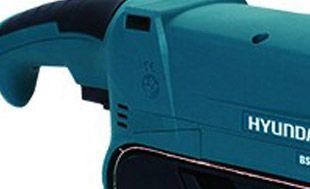 Ленточная шлифмашина Hyundai BS 900  - ЭЛЕКТРОННОЕ УПРАВЛЕНИЕ СКОРОСТЬЮ Совреме...