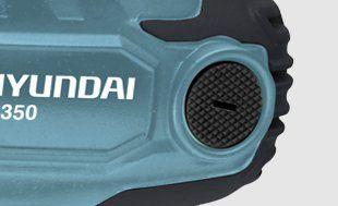 Дрель-шуруповерт Hyundai D350  - БЫСТРОСЪЕМНЫЕ УГОЛЬНЫЕ ЩЕТКИ Для стабиль...
