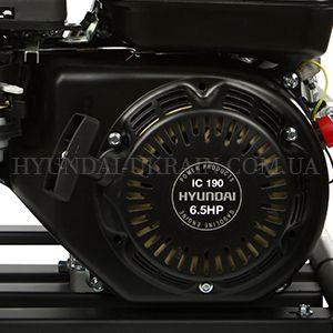Высоконапорная мотопомпа Hyundai HYH 53-80  - ФИРМЕННЫЙ ДВИГАТЕЛЬ IC 190 Оригинальный ...
