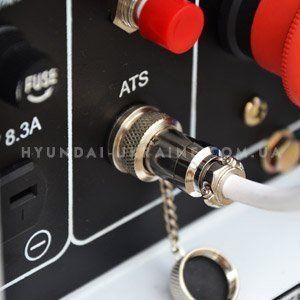 Дизельный генератор Hyundai DHY 8000LE  - ATS КОНТРОЛЛЕР В комплекте электростанци...