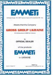 Сертификат Gross (Киев)
