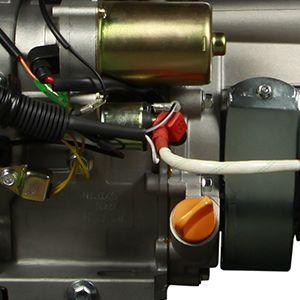 Двухтопливный генератор Hyundai HHY 10000FE-T ГАЗ-БЕНЗИН  - КОНТРОЛЬ УРОВНЯ МАСЛА Высокочувствительн...