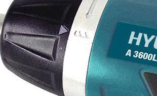 Аккумуляторная отвертка Hyundai A 3600Li  - РЕГУЛИРОВКА КРУТЯЩЕГО МОМЕНТА Посредство...