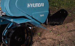 Культиватор бензиновый Hyundai T 700  - УСТАНОВКА НАВЕСНОГО ОБОРУДОВАНИЯ От прис...