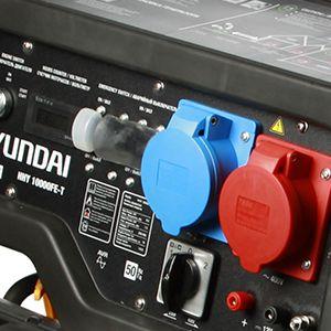 Двухтопливный генератор Hyundai HHY 10000FE-T ГАЗ-БЕНЗИН  - 220 и 380 В Силовая установка выда...