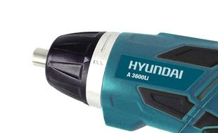 Аккумуляторная отвертка Hyundai A 3600Li  - БЫСТРОЗАЖИМНОЙ ПАТРОН В качестве патрона...
