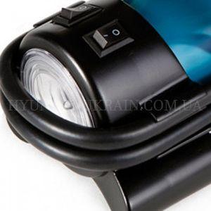 Автомобильный компрессор Hyundai HY 1765  - LED-ФОНАРИК Встроенный яркий фонарь обес...