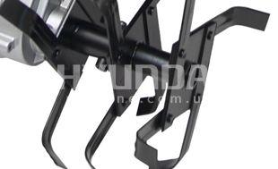 Культиватор электрический Hyundai T 1810E  - КАЧЕСТВЕННЫЕ ФРЕЗЫ Фрезы изготовлены из ...