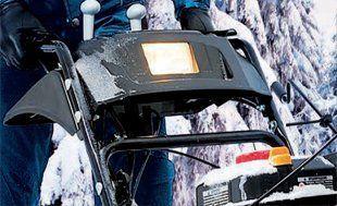 Бензиновый снегоуборщик Hyundai S 7065  - ГАЛОГЕННАЯ ФАРА Учитывая, что в зимний п...