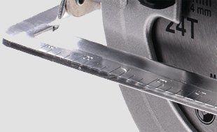 Пила циркулярная Hyundai C1500-190  - АЛЮМИНИЕВЫЙ СТОЛ Конструкция из алюминие...
