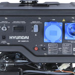 Бензиновый генератор Hyundai HHY 10000FE ATS  - ПРОСТАЯ СХЕМА УПРАВЛЕНИЯ Для обслуживани...