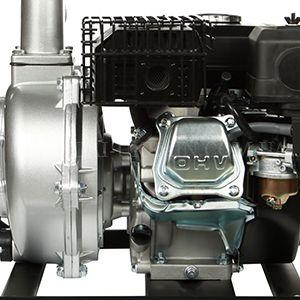 Высоконапорная мотопомпа Hyundai HYH 53-80  - ЧУГУННАЯ КРЫЛЬЧАТКА Для продуктивного за...